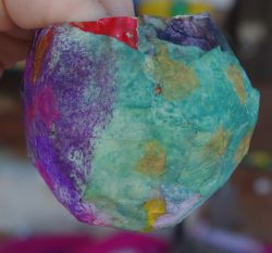 Post image for Paper Mache Easter Baskets