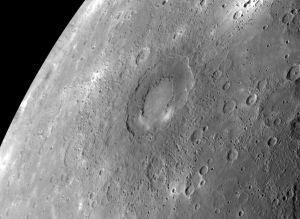 Rachmaninoff crater, Mercury