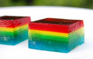Rainbow jelly