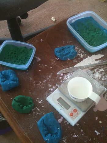 plasticine moulds