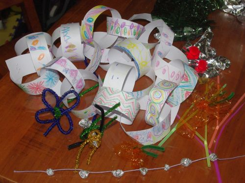 Post image for Wordless Wednesday – Homemade Decorations