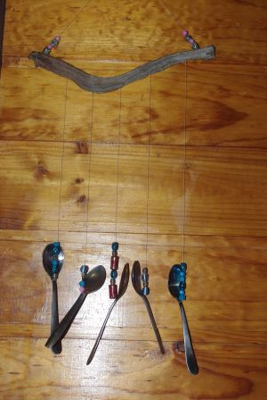 spoons and beads