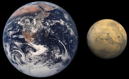 Mars/Earth Comparison